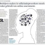 Het Financieele Dagblad: 'Bedrijven gebruiken steeds vaker online-assessments'
